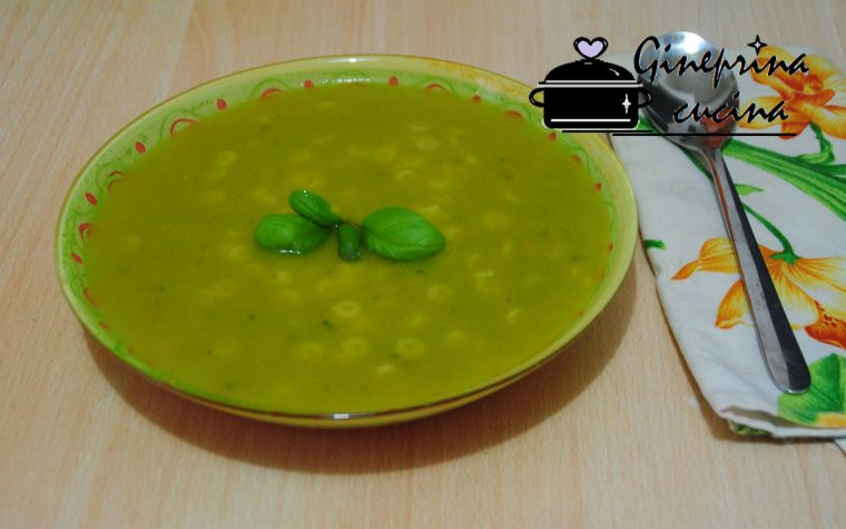 passata di zucchine profumata al basilico