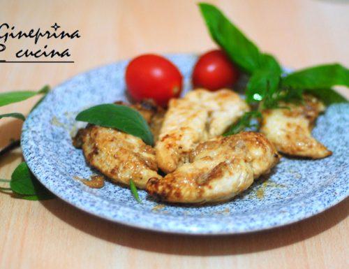 controfiletti di pollo insaporiti con parmigiano