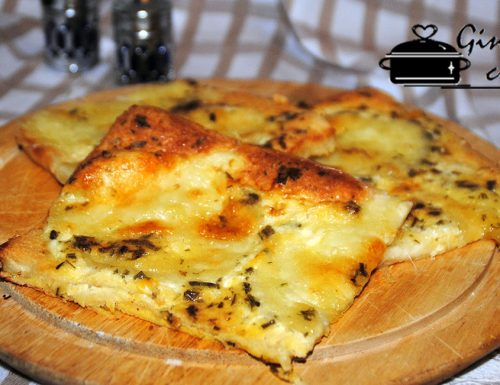 tortino di pancarrè e mozzarella