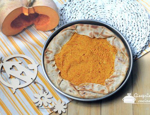 Torta o farinata di zucca genovese