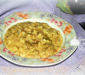 risotto alle melanzane e gorgonzola bimby