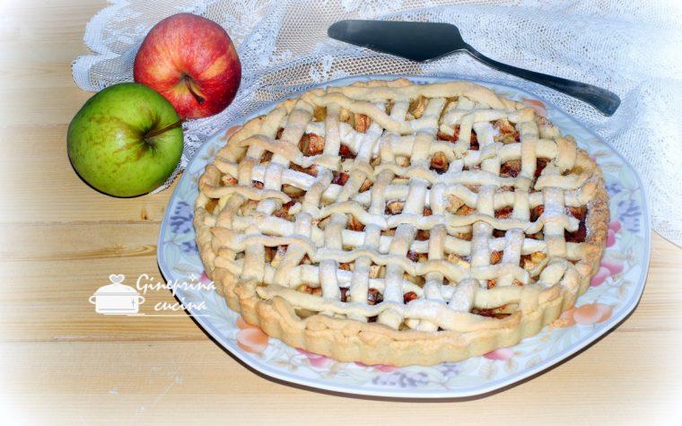 crostata di mele profumata alla cannella