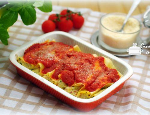 cannelloni ricotta zucchine e prosciutto