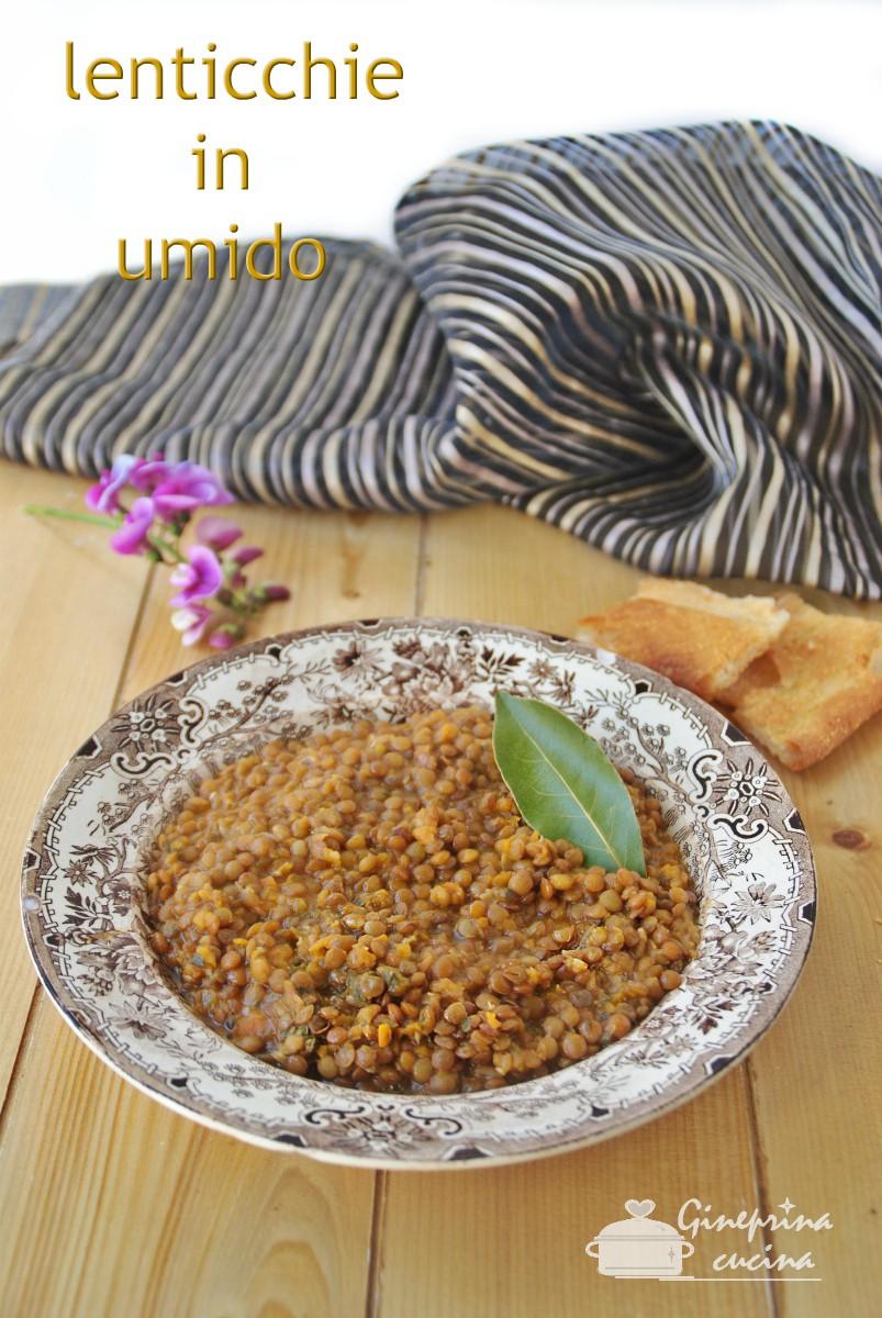 lenticchie in umido con il bimby