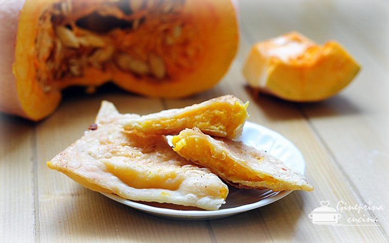 i barbagiuai – fagottini ripieni di zucca