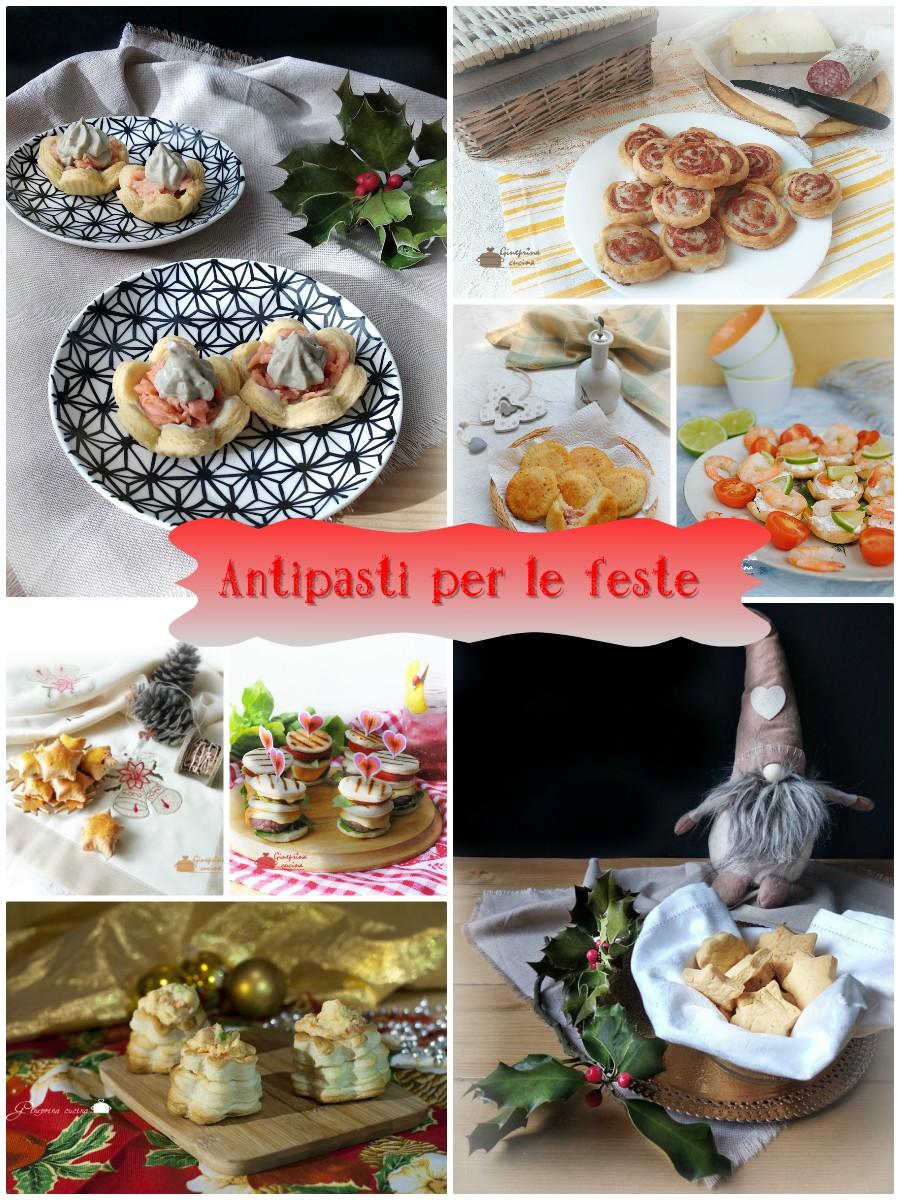 antipasti feste Collage