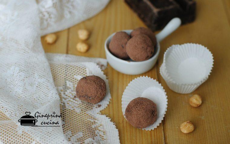 tartufini al cioccolato salva biscotti