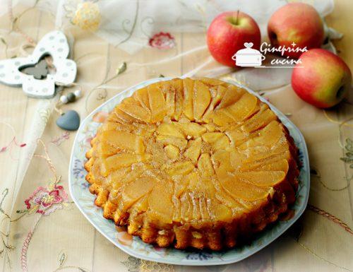 torta di mele rovesciata soffice