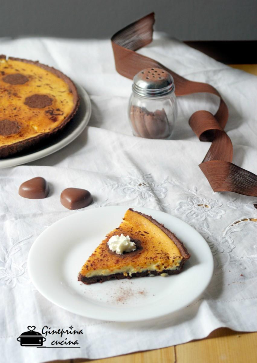 crostata mascarpone e ricotta