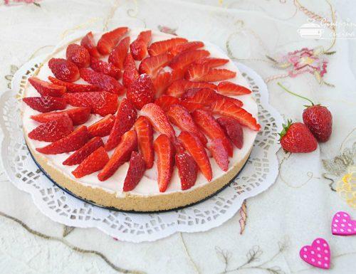 cheesecake alle fragole – senza panna