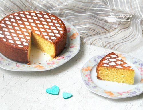 torta soffice alle mandorle – tipo Panarello