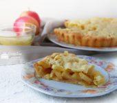 torta di mele e ananas