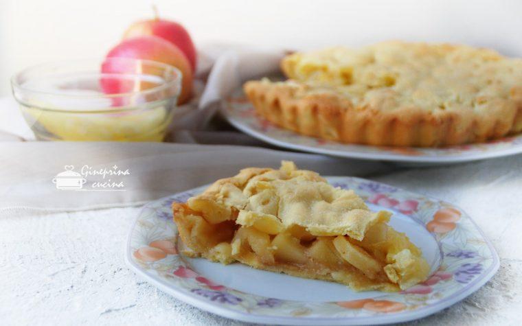torta di mele e ananas tipo apple-pineapple pie