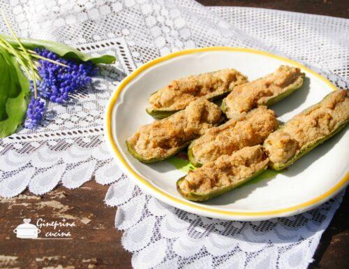 zucchine ripiene alla ligure (sùcchin pin)