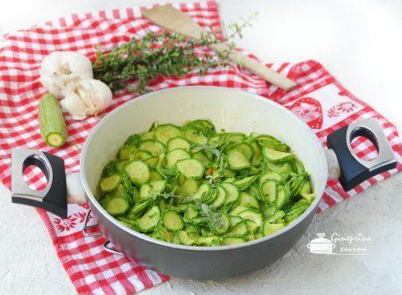 zucchine a funghetto - un ottimo contorno