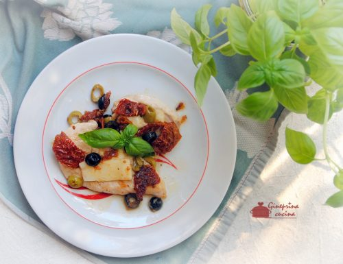 petto di pollo saporito al profumo di basilico