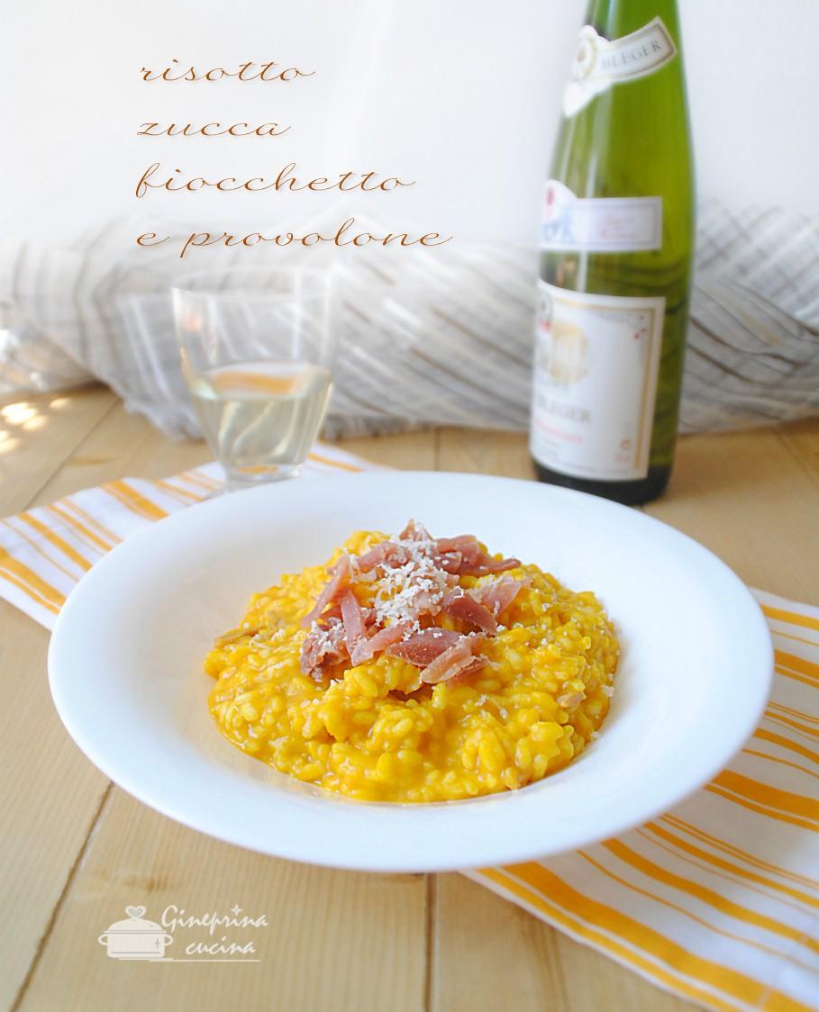 risotto zucca fiocchetto e provolone