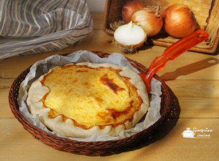 torta di cipolle - ricetta bimby