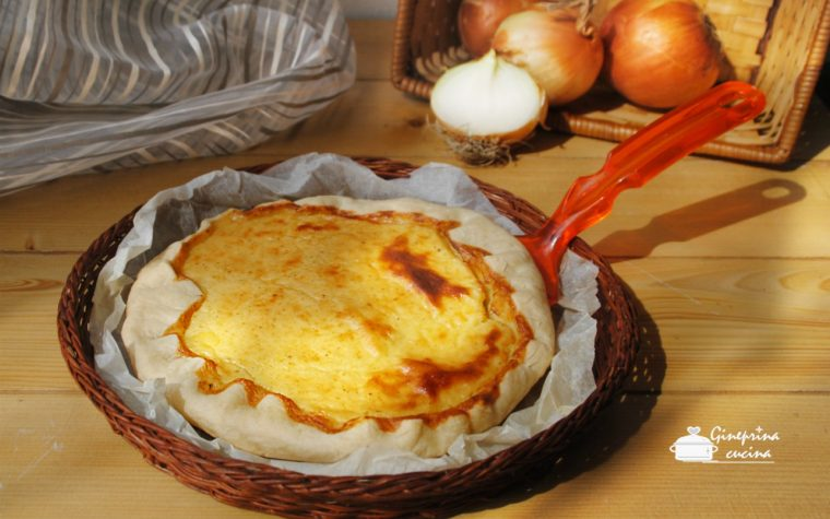 torta di cipolle – ricetta bimby