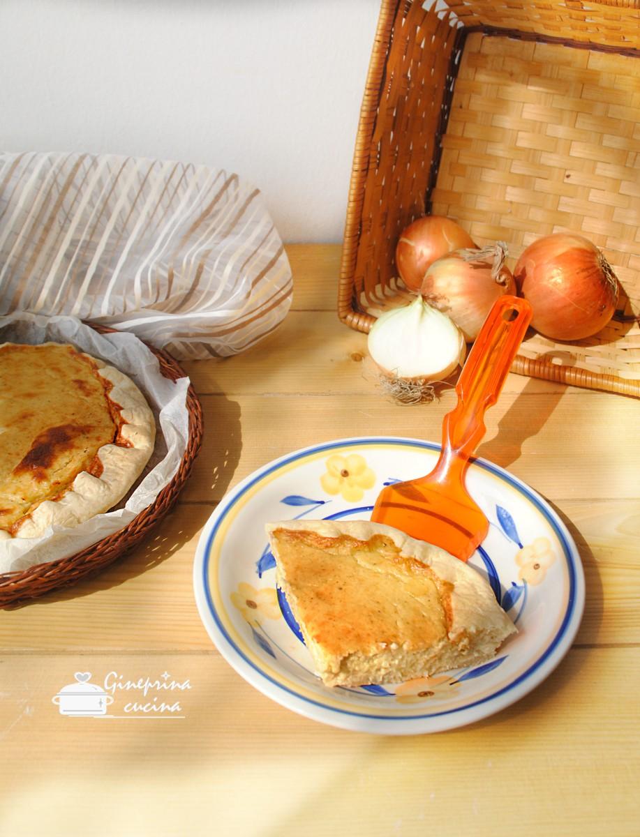 torta di cipolle