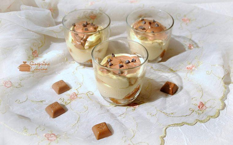 coppe mascarpone e nutella con uova pastorizzate