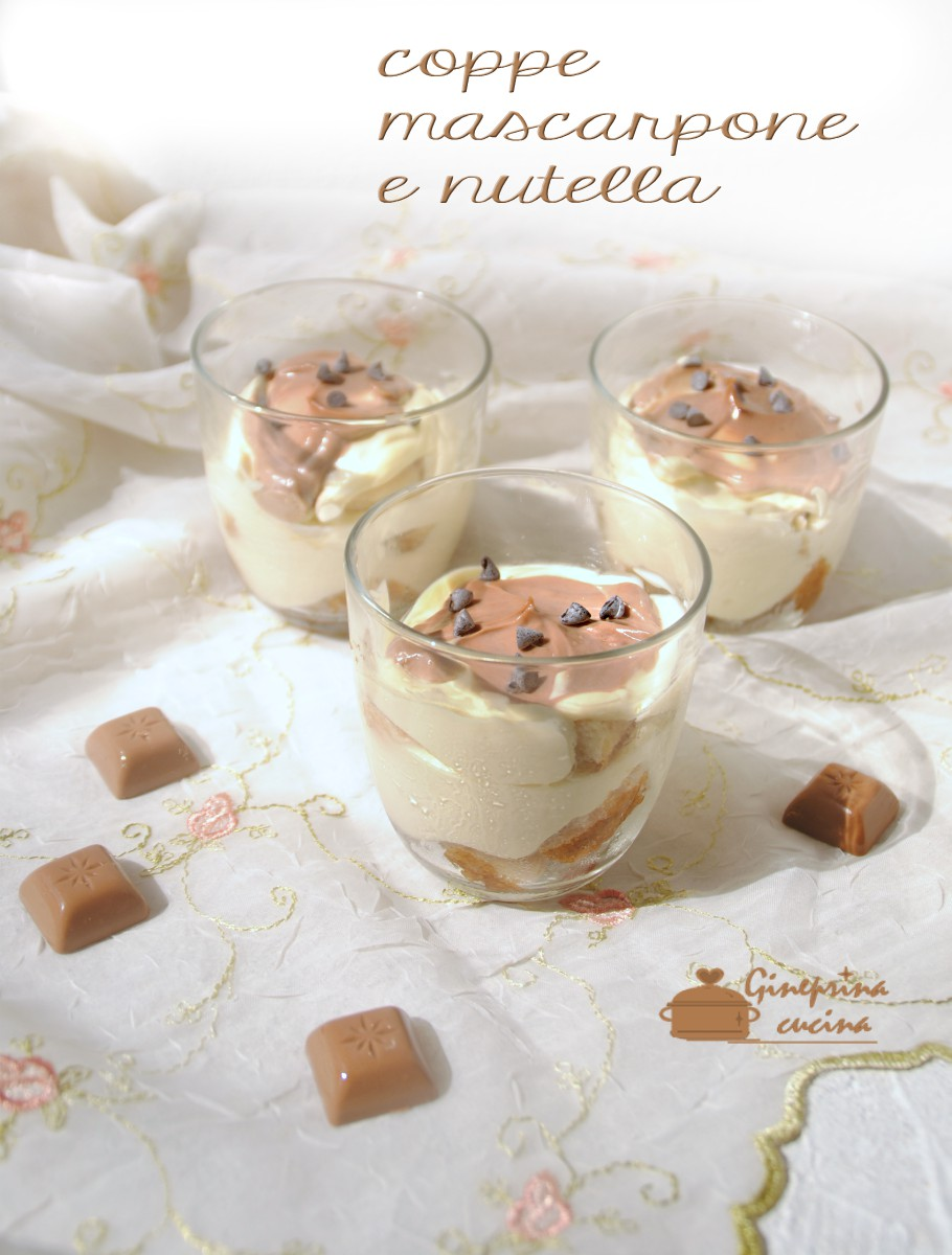 coppe mascarpone nutella
