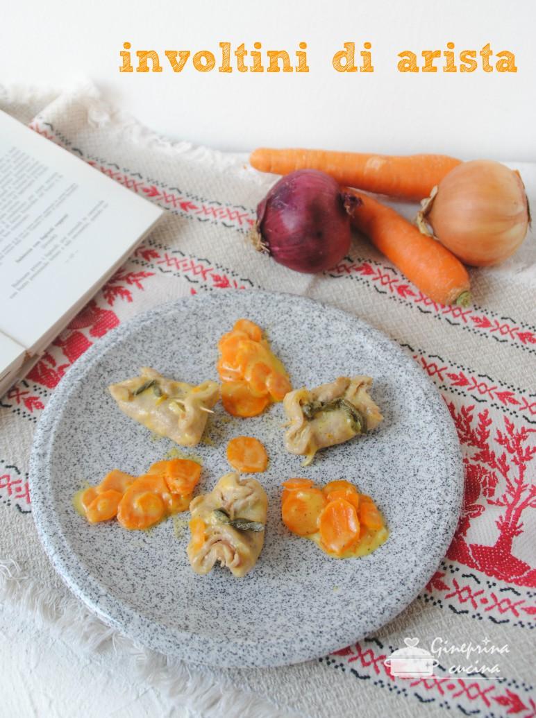 involtini di arista con speck e formaggio v