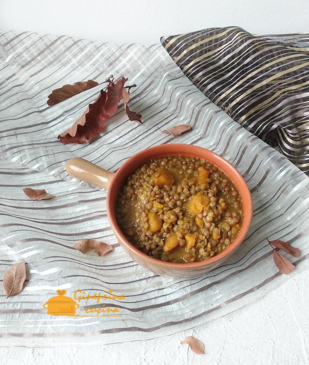 Zuppa Di Lenticchie Rosse E Zucca Con Il Bimby Gineprina Cucina