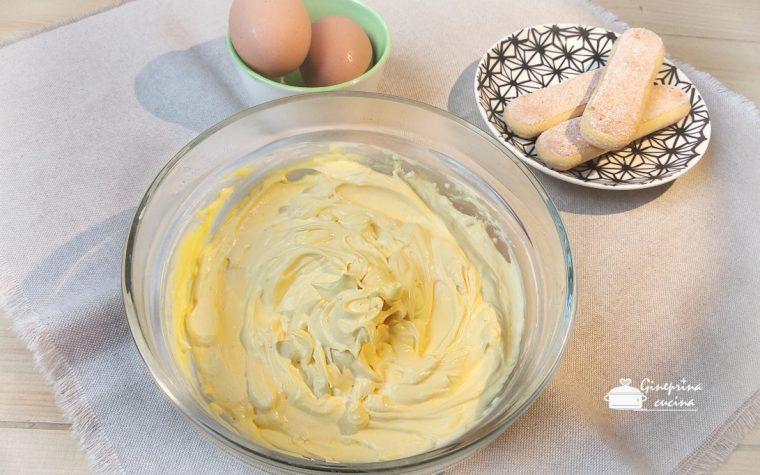 crema al mascarpone con uova pastorizzate II versione