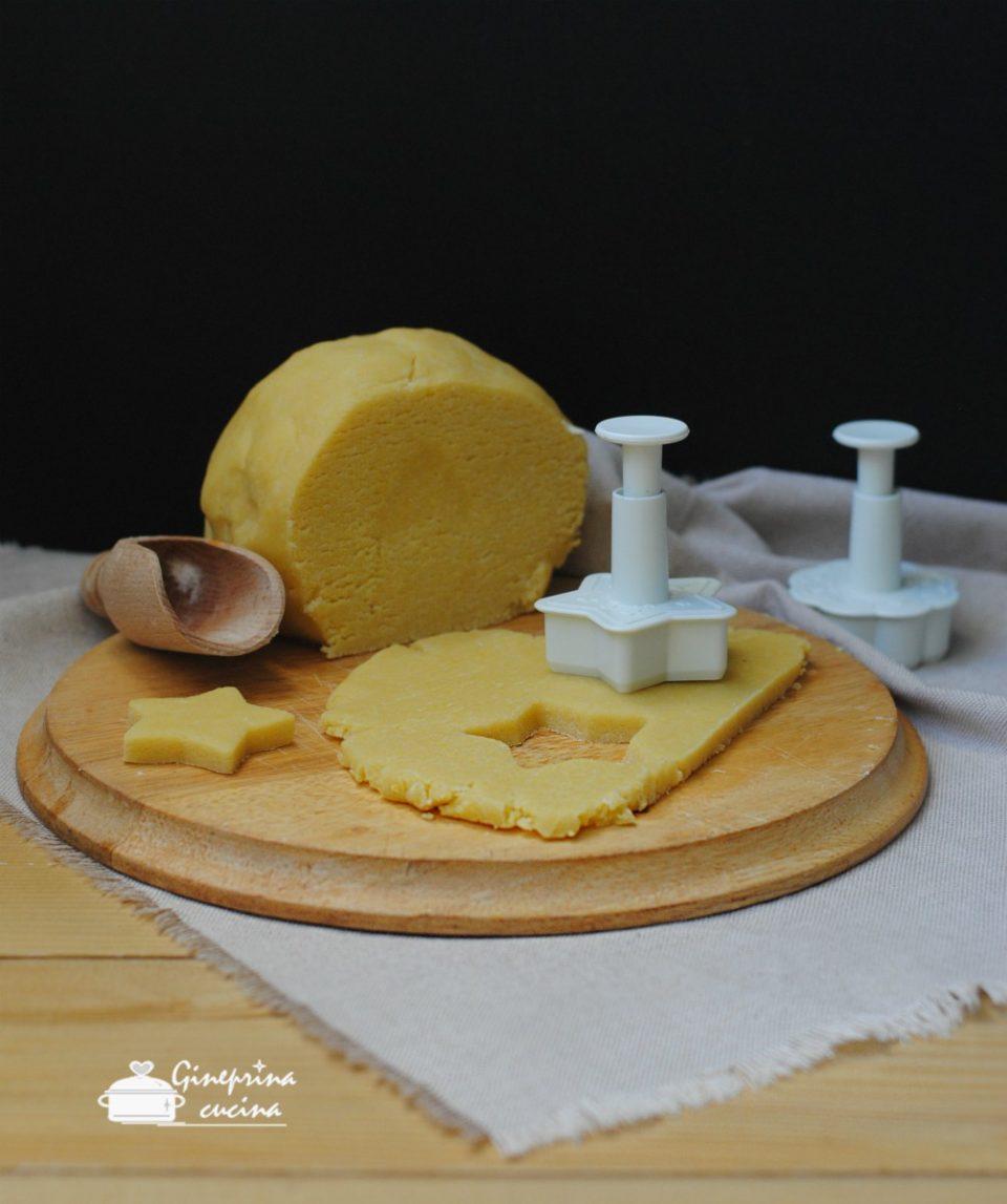 pasta frolla al parmigiano