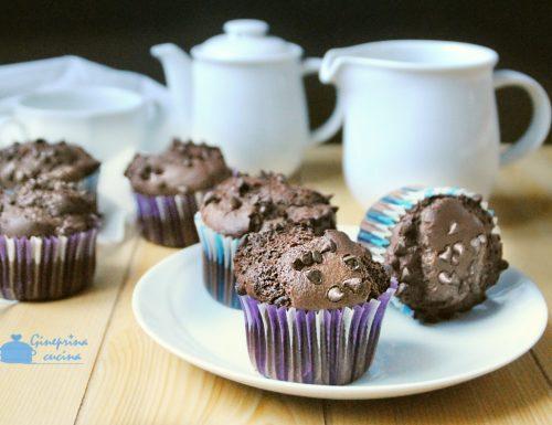 muffin al cioccolato con le nocciole