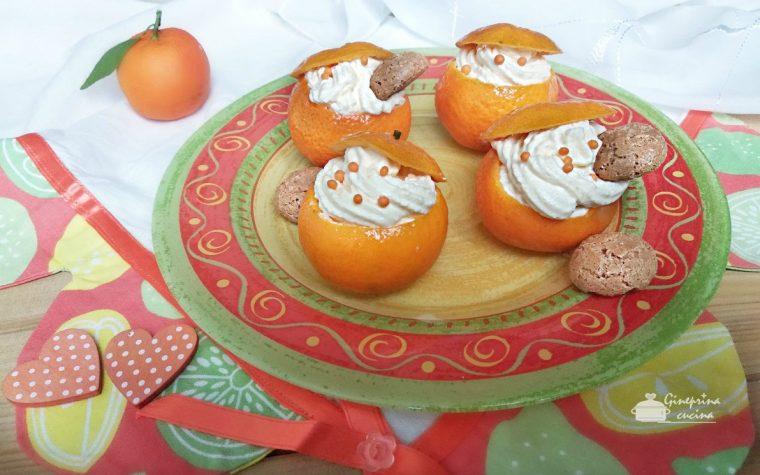 crema di mascarpone al mandarino senza uova