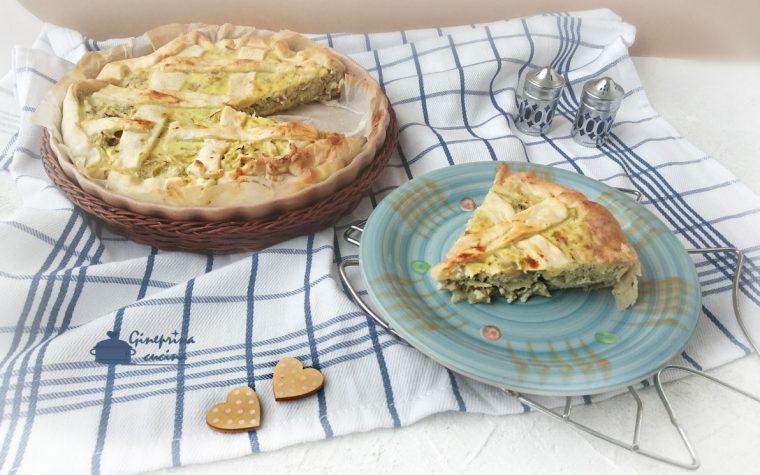 torta di carciofi – versione veloce