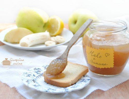 confettura mele e banane anche ricetta bimby