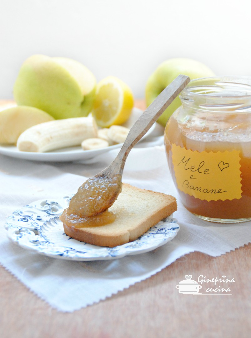 confettura mele e banane