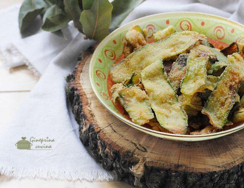 zucchine impanate fritte croccanti e golose