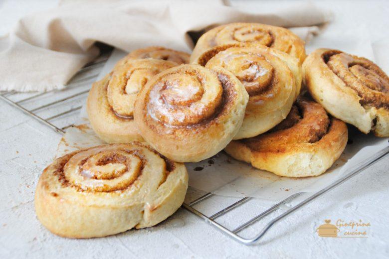 cinnamon rolls – girelle alla cannella