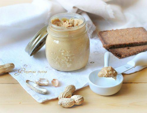 burro di arachidi ricetta casalinga