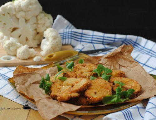 cavolfiore impanato e fritto