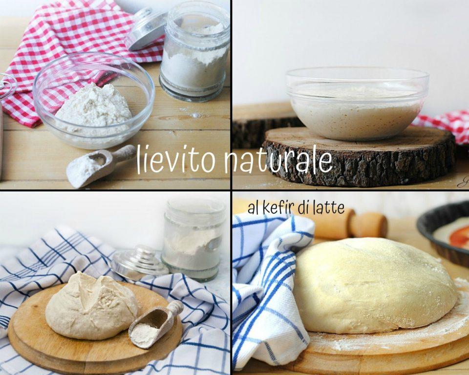 lievito naturale al kefir di latte