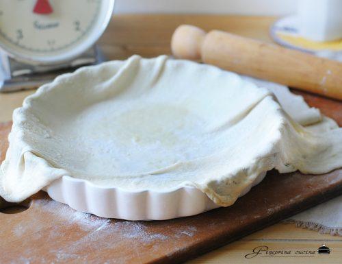 pasta matta per torte salate