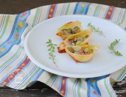 conchiglioni ripieni di verdure