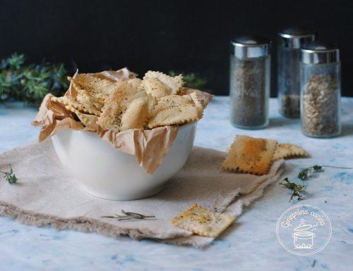 crackers alle erbe aromatiche