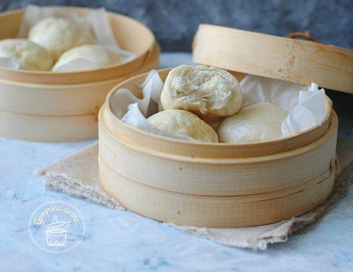 panini cinesi al vapore i Mantou