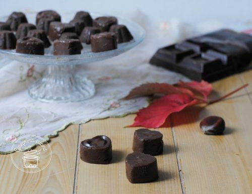 cioccolatini alle castagne
