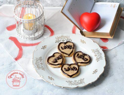 biscotti alle nocciole per San Valentino
