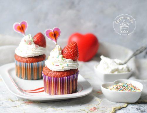 muffin alla barbabietola e yogurt