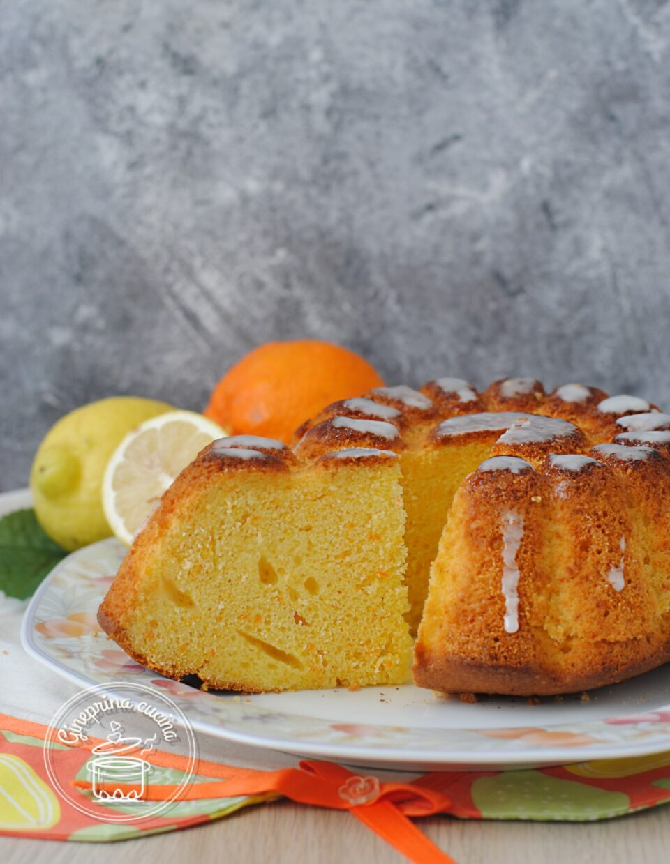 torta ACE con arance limoni e carote