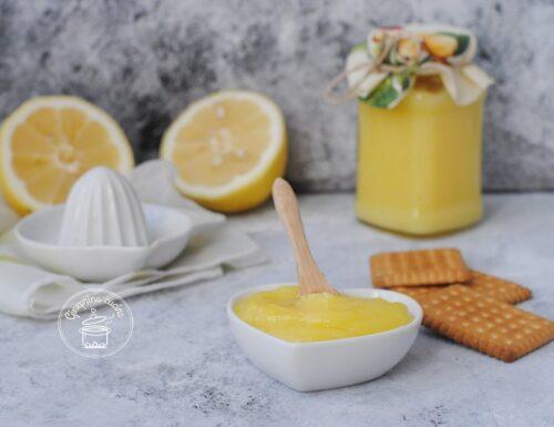lemon curd – crema al limone