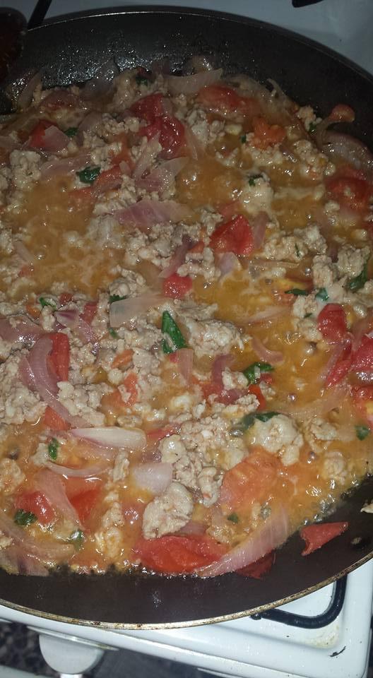 peperoni ripieni al ragù di salsiccia
